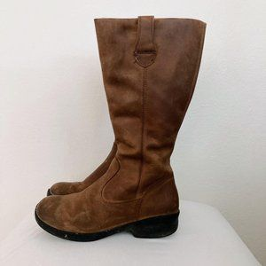 KEEN 9.5 Tyretread Leather Riding Boots
